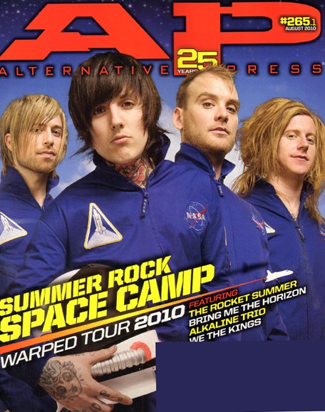 Alternative Press Cover - 8/1/2010