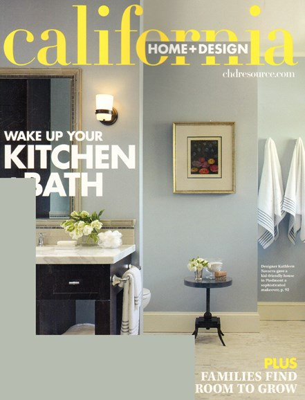 California Home & Design Cover - 7/1/2010