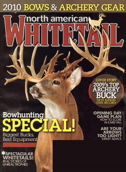 North American Whitetail Cover - 7/1/2010