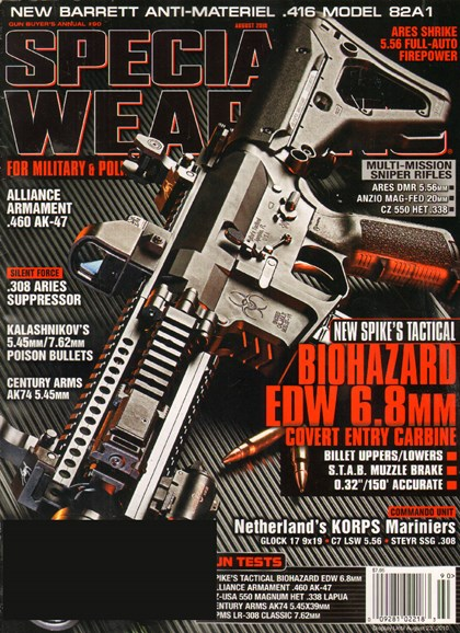 Special Weapons for Military & Police Cover - 7/1/2010