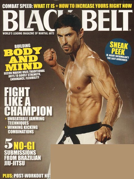 Black Belt Magazine Cover - 8/1/2010