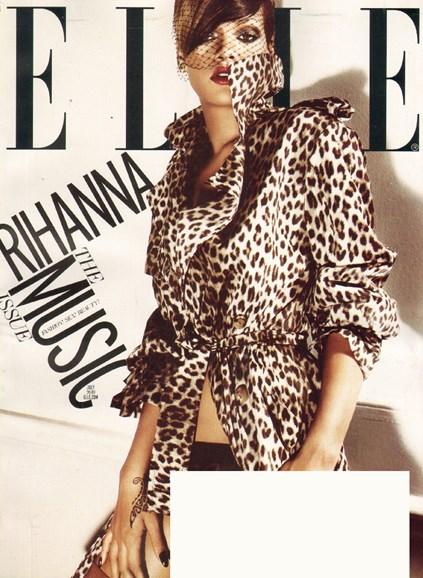 ELLE Cover - 7/1/2010