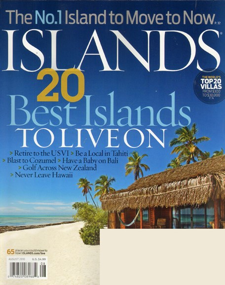 Islands Cover - 8/1/2010