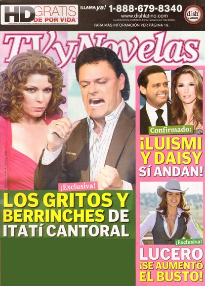 Tv Y Novelas Cover - 7/2/2010