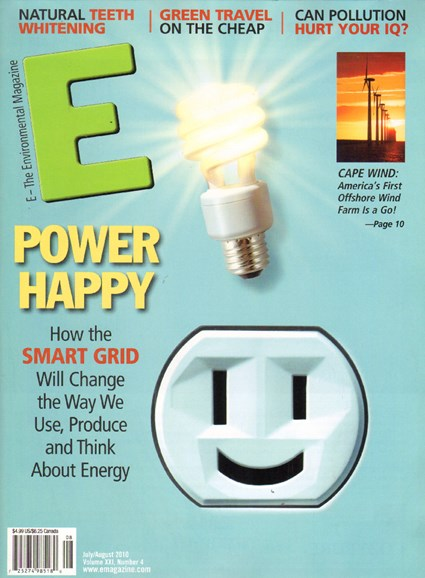 E: The Environment Magazine Cover - 7/11/2010