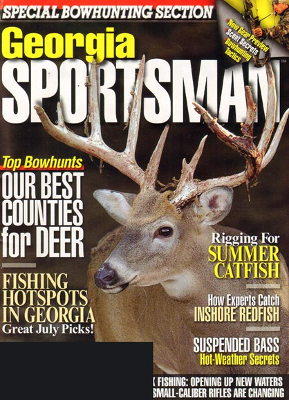 Georgia Sportsman Cover - 7/1/2010