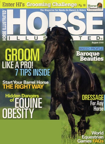 Horse Illustrated Cover - 8/1/2010