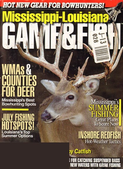 Mississippi Game & Fish Cover - 7/1/2010
