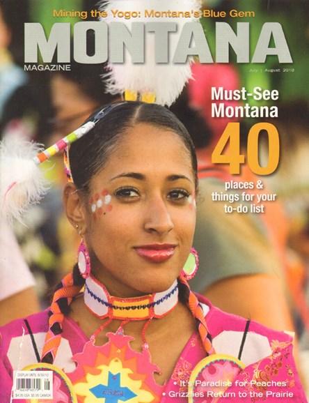 Montana Magazine Cover - 7/1/2010