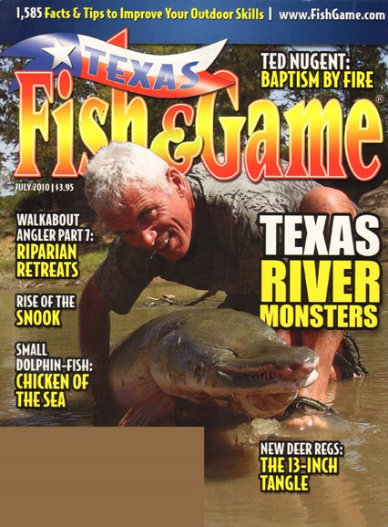 Texas Fish & Game Cover - 7/1/2010