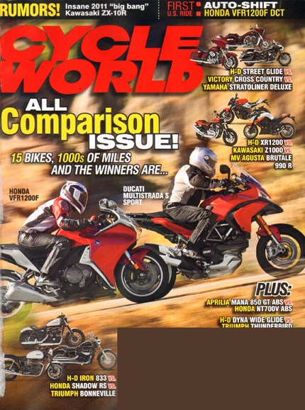 Cycle World Cover - 8/1/2010