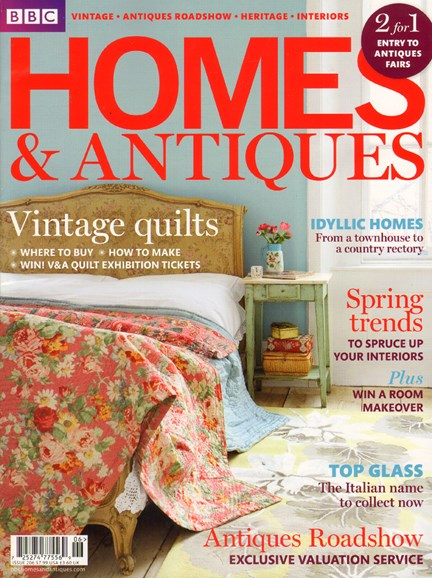 Homes & Antiques Cover - 7/1/2010
