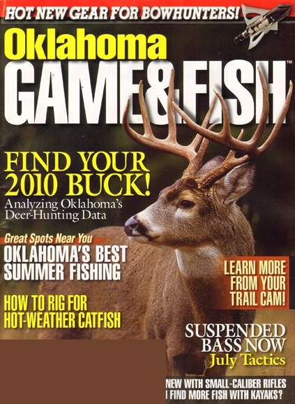 Oklahoma Game & Fish Cover - 7/1/2010