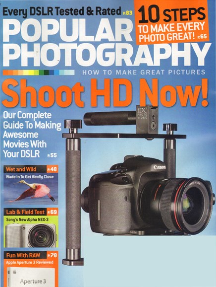 Popular Photography Cover - 8/1/2010