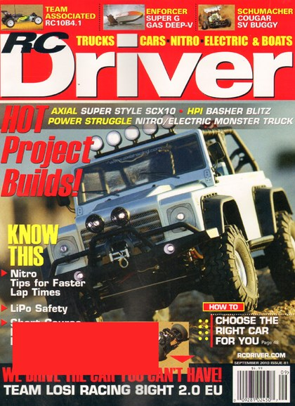 RC Driver Cover - 9/1/2010