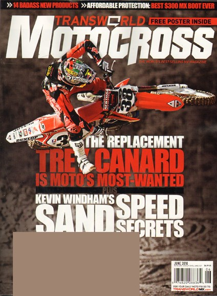 Transworld Motocross Cover - 7/1/2010