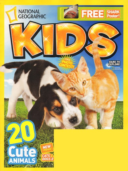 National Geographic Kids Cover - 8/1/2010