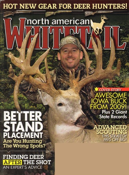 North American Whitetail Cover - 8/1/2010