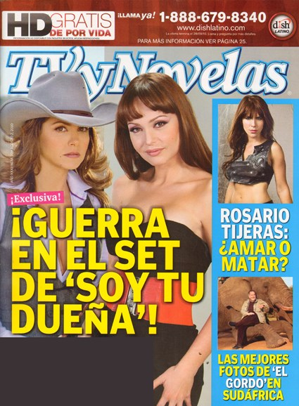 Tv Y Novelas Cover - 8/1/2010