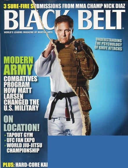 Black Belt Magazine Cover - 9/1/2010