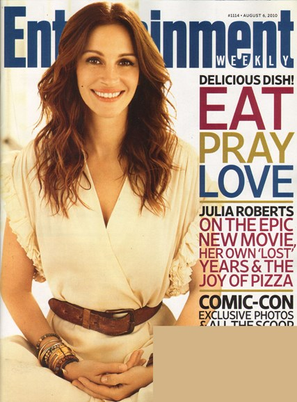 Entertainment Weekly Cover - 8/6/2010