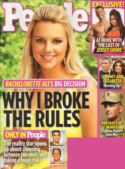 People Cover - 8/9/2010