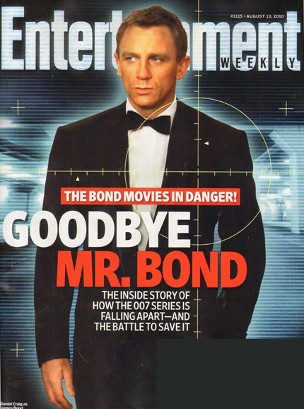 Entertainment Weekly Cover - 8/13/2010
