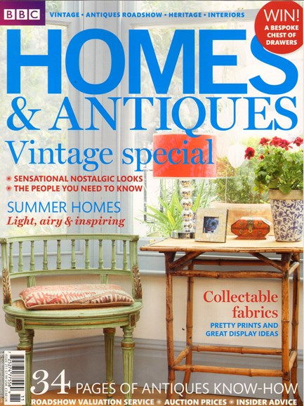 Homes & Antiques Cover - 8/1/2010