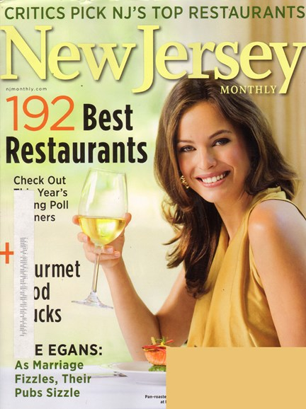 New Jersey Monthly Cover - 8/1/2010