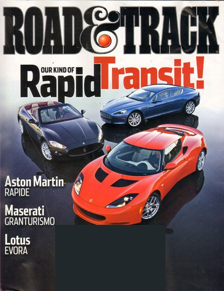 Road & Track Cover - 9/1/2010