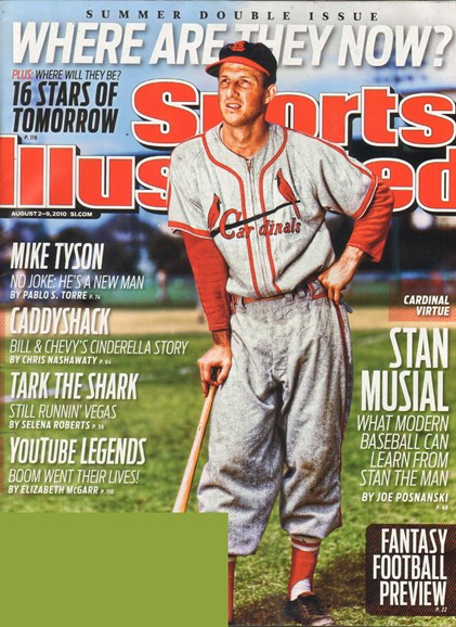 Sports Illustrated Cover - 8/2/2010