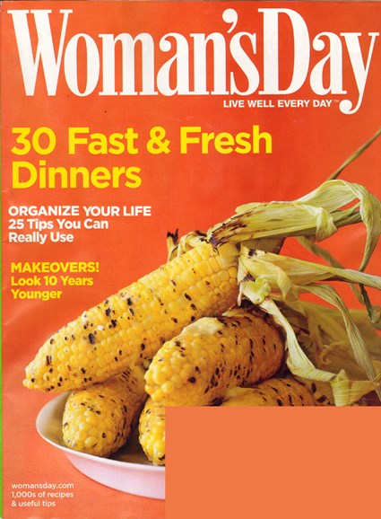 Woman's Day Cover - 9/1/2010