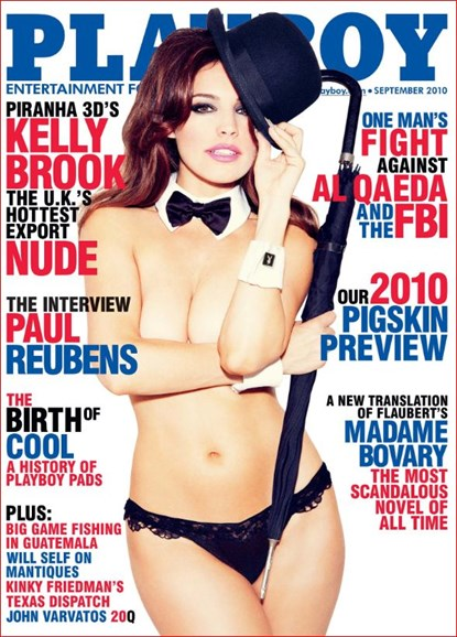 Playboy Cover - 9/1/2010