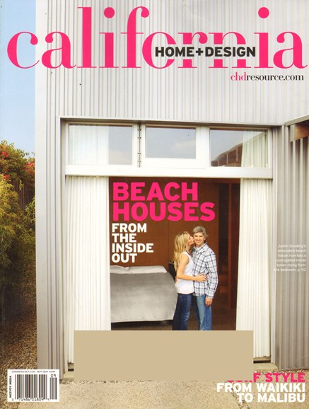 California Home & Design Cover - 9/1/2010