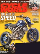Cycle World Magazine 9/1/2010