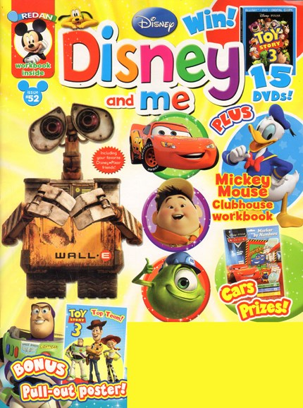 Disney Junior Cover - 9/1/2010