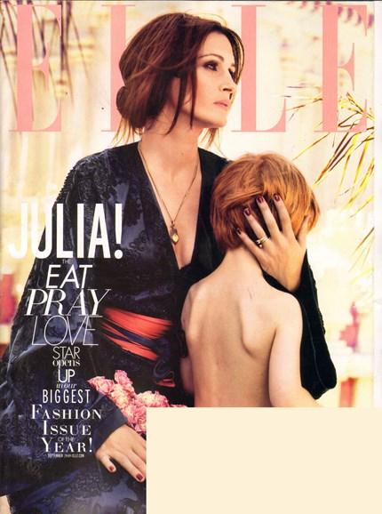 ELLE Cover - 8/1/2010