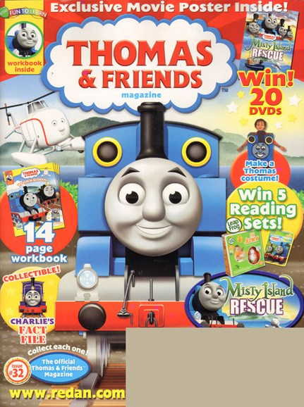 Thomas & Friends Cover - 9/1/2010