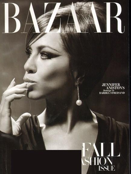 Harper's Bazaar Cover - 9/1/2010