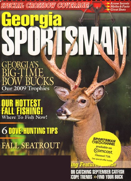 Georgia Sportsman Cover - 9/1/2010