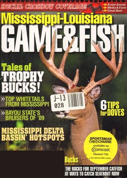 Mississippi Game & Fish Cover - 9/1/2010