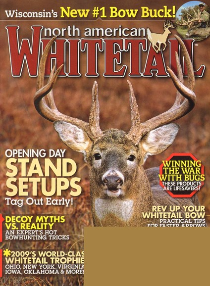 North American Whitetail Cover - 9/1/2010