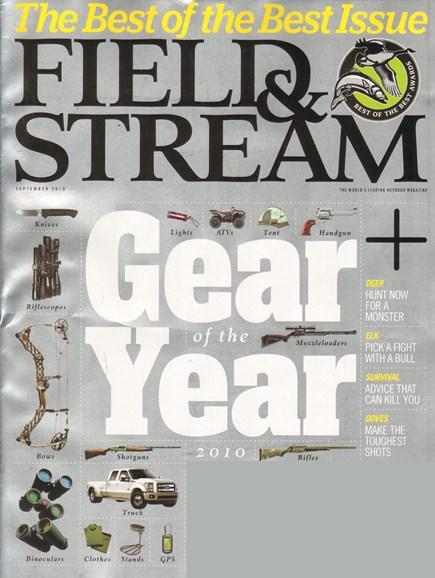 Field & Stream Cover - 9/1/2010