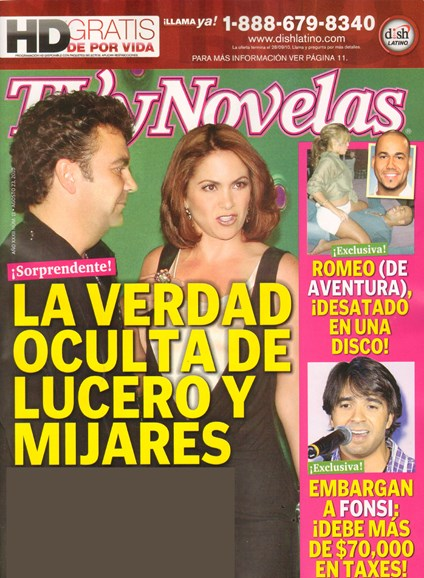 Tv Y Novelas Cover - 9/1/2010