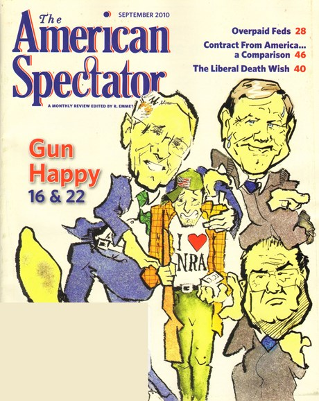 The American Spectator Cover - 9/1/2010