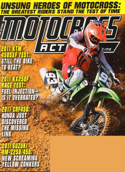 Motocross Action Cover - 10/1/2010