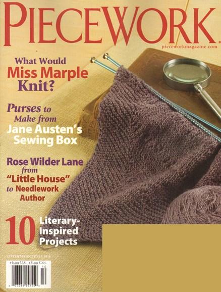 Piecework Cover - 9/1/2010
