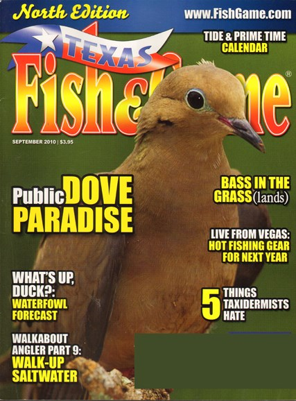 Texas Fish & Game Cover - 9/1/2010