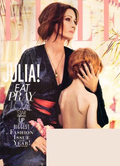 ELLE Cover - 9/1/2010