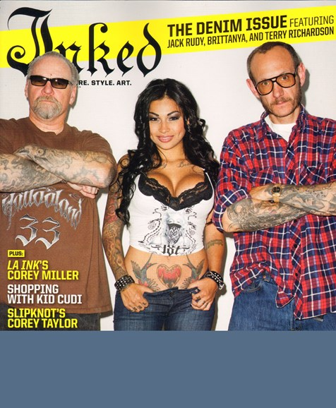 Inked Cover - 9/1/2010